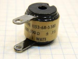 500Kohm 0,1% resistor Daven