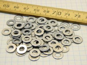 Washer Inox mm. 4 (100pcs.)