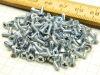 Vite autofilettante mm. 2,6x15 acciaio nickelato (100 pezzi)