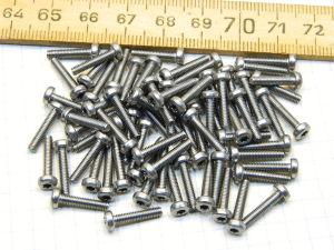Screw inox M2,5x15 torx head (100pcs.)
