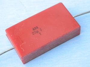 30pF 2500Vcc condensatore mica argento