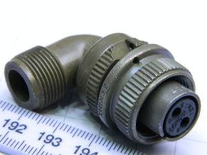Connector plug female 2pin 10-422319-3S Bendix