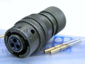 Connector plug female 3pin VPT06GSE8-3AS Veam