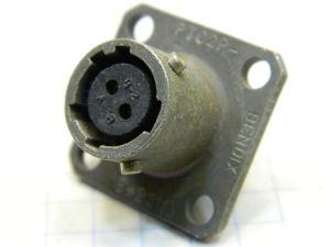 Connector receptable female 2pin PT02P-8-2SW Bendix, connettore