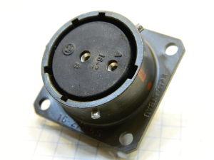 Connector receptable female 2pin PT02E-16-2/2,5S Schaltbau
