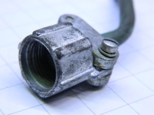 AN3057-3A Cannon connector cable clamp, serracavo