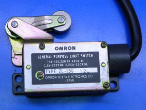 OMRON Type ZL-15G limit switch