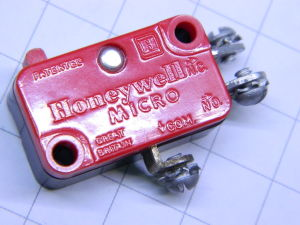 Micro Switch Honeywell V3-1 , 115/250V 10A