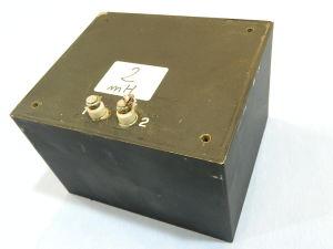 Shielded coil 2,5mH, 14x12x9,6 cm.