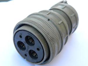 MS3106E 28-22S(C) Bendix connector plug female 6pin