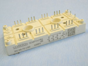 SKD146/12L100 Semikron 3-Phase Bridge Rectifier + IGBT chopper