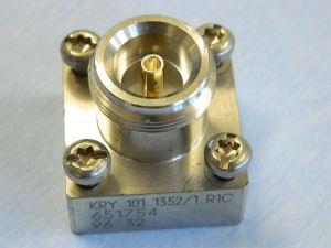 Connettore coassiale 4.1-9.5 femmina pannello