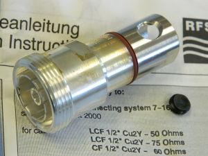 """7-16 connettore femmina  SPINNER BN71 03 21  cavo cellflex 1/2"""""""