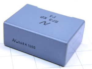 0,068uF 1KV condensatore ARCOTRONICS
