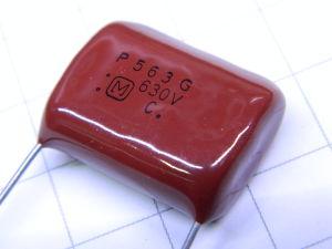 0,056MF 630Vdc 2% capacitor PANASONIC