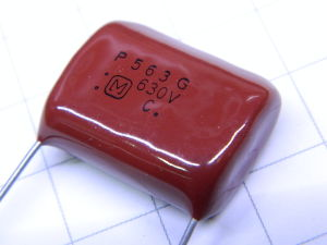 0,056MF 630Vdc 2% condensatore PANASONIC