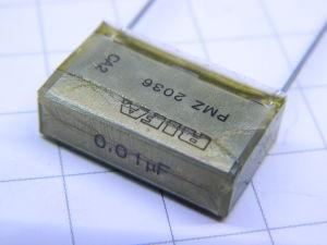 0,01uF 3KVdc condensatore RIFA