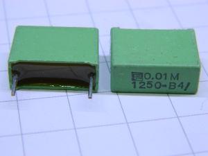 0,01uF 1250Vdc condensatore ERO (n.2 pezzi)
