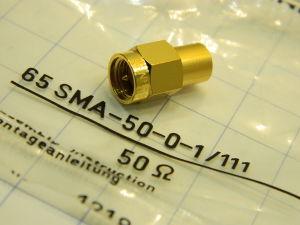 Terminazione 50ohm SUHNER 65SMA-50-0-1/111 connettore SMA