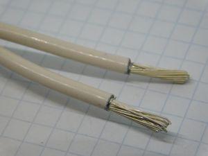 Aluminium cable 2xAWG10 silver coated