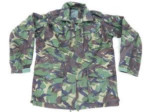 Parka British Army camo woodland DPM, size XL