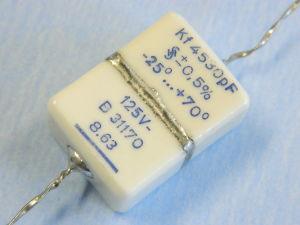 4530pF 125V 0,5% condensatore di precisione Siemens B31170