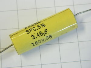 3,46MF 160Vdc capacitor FACEL SPC
