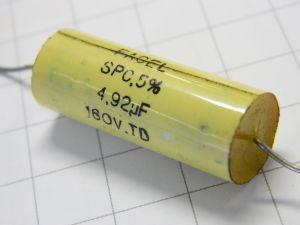 4,92uF 160Vdc condensatore FACEL SPC