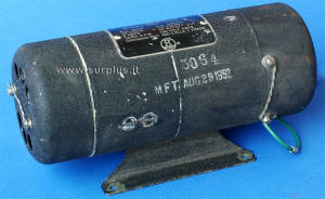 Dynamotor inverter 100W 115Vac 400Hz