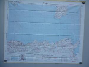 American silk map 2°WW