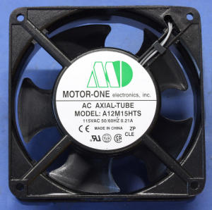 Axial fan Motor One A12M15HTS 115Vac 50/60Hz 0,21A  mm. 120x120x40