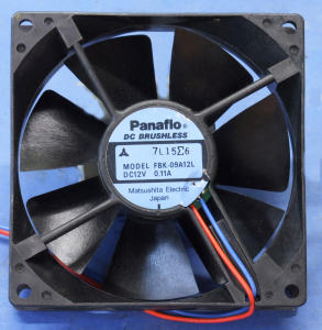 Fan PANAFLO 12Vdc 0,11A   mm. 90x90x25