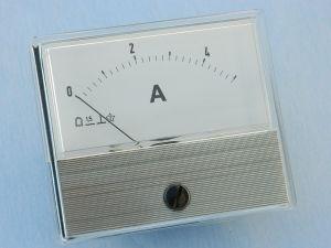 Amperometro 5Adc 70x60, classe 1.5