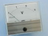 Voltmetro 15Vdc  70x60 , classe 1.5