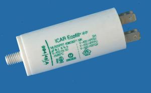6uF 450Vac Condensatore ICAR Ecofill MLR 25 PRT   polipropilene metallizzato