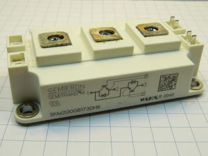 SKM200 GB17 3DH6 Semikron trench IGBT module