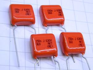 0,15uF 680Vdc condensatore PILKOR metal PETP film (n.4 pezzi)