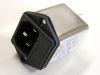 Filter SCHAFFNER FN9260B-6-06 250Vac 6A, IEC inlet, fuseholder