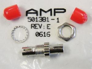 AMP 501381-1 fiber optic multimode ST connector