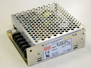 Alimentatore Mean Well S-25-24  24Vcc 1,1A  25W