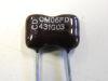 430pF 500vcc condensatore Mica/Argento
