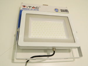 Led light 100W V-TAC IP65 waterproof 4000K° 220Vac