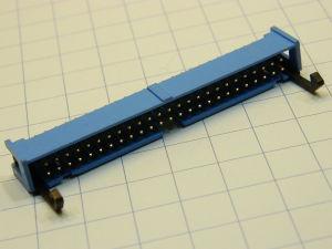 Connettore IDC 50 pin maschio circuito stampato