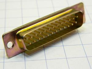 Connettore D SUB 25 pin maschio a saldare