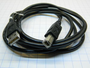 Cavo stampante USB 2.0 tipo A/B  mt.2