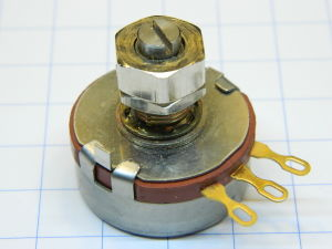 Potentiometer 5Kohm 2W PEC Type RV4LAYSA502A golden contact