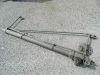 Martinetto sollevatore a vite senza fine cm. 130 per container e casse mobili