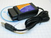 Interfaccia diagnosi auto ELM327  SCAN OBD2 II 1.5 USB universale