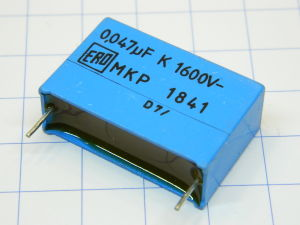 0,047uF 1600Vcc condensatore ERO MKP