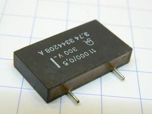11000pF 300Vdc 0,5% precision capacitor